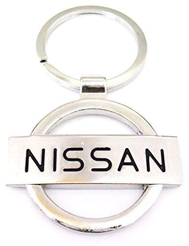 nissan-auto-in-metallo-cromato-portachiavi-con-logo-keychain-uk-venditore