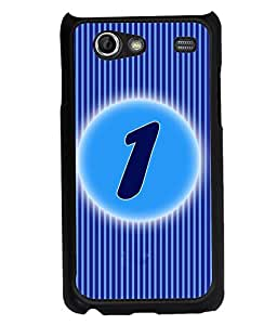 Fuson 2D Printed Numerology Designer back case cover for Samsung Galaxy S Advance I9070 - D4218