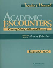 Academic Encounters Level 4 Teachers Manual Reading and Writing by Seal