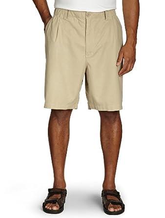 Island Outfitters Big & Tall Elastic-Waist Linen-Blend Shorts