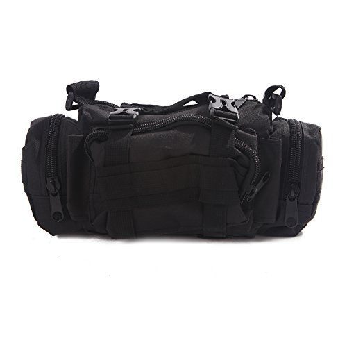 hde-tactical-military-surplus-waist-pack-modular-utility-camping-hiking-med-bag-black