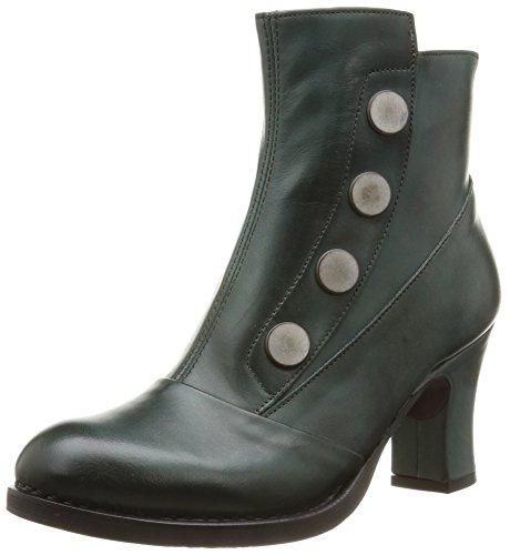Neosens268 Baladi - Stivali Donna , Verde (Vert (Plomo)), 37