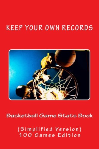 Basketball Game Stats Book: Keep Your Own Records (Simplified Version): Volume 9 (Team Colors)