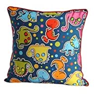 Swayam Kids N More Digital Print Mercerised Cotton 2 Piece Kids Cushion Cover Set - Multicolor (KCC 122-152)