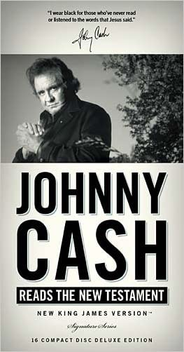 Johnny Cash Reads the New Testament (Signature Series) written by Johnny Cash