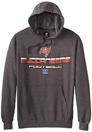 NFL Tampa Bay Buccaneers First And Goal V Hooded Sweatshirt, Charcoal Heather, Medium by VF LSG