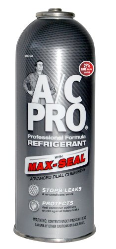 A/C PRO (ACP-105) PRO Professional Formula R-134a Ultra Synthetic Air Conditioning Refrigerant with Advanced Leak Sealer - 12 oz. (134a Refrigerant 12 Oz compare prices)