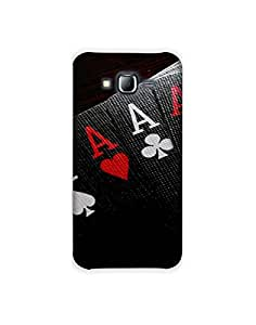 Samsung Galaxy J5 ht003 (199) Mobile Case from Mott2 - Four Aces - Black - Deck (Limited Time Offers,Please Check the Details Below)