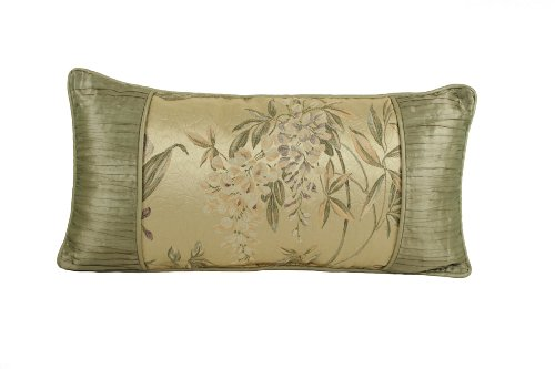 Croscill Iris Boudoir Pillow,22-Inch By 11-Inch, Multi front-888266