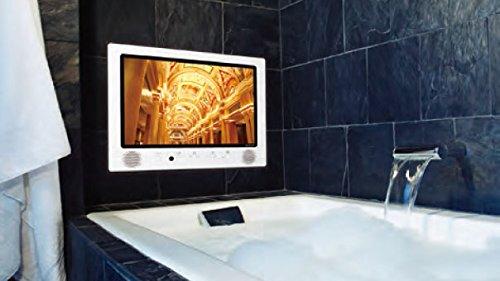 ツインバード 浴室テレビ 22V型 VB-BS222W (地デジ・BS・110度CS) フルセグ フルハイビジョン