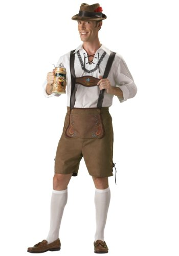 Incharacter Mens German Beer Bavarian Guy Lederhosen Oktoberfest Costume