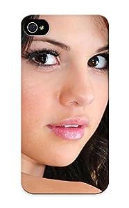 Selena Gomez Closeup Celebrity Brown Eyes Singers Simple Faces Looking