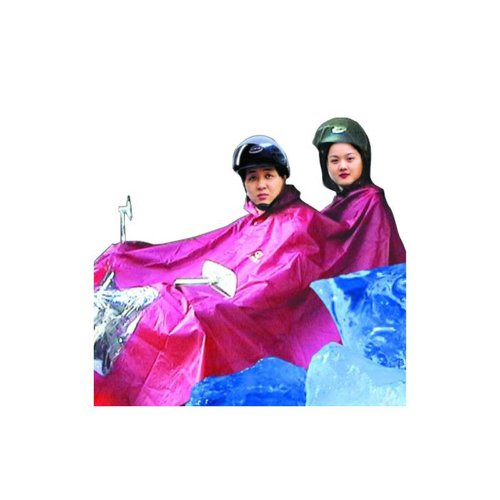 Electric Car Motorcycle Poncho Raincoat N231 Double Outdoors