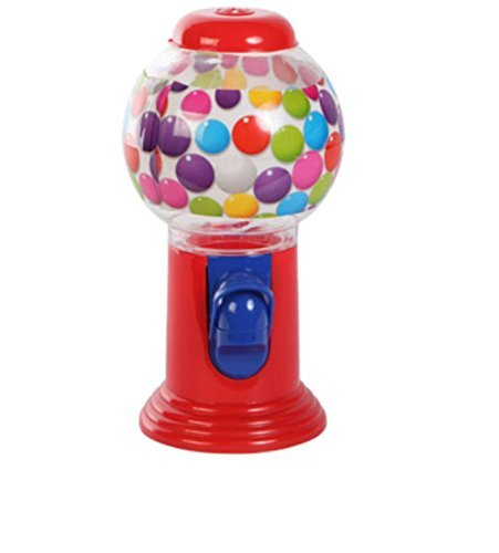 Bubble Gum Machine Coin-less for Gumballs, Cheese Balls, Malt Balls, Jelly Beans - 1