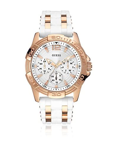 Guess Reloj con movimiento mecánico japonés Woman Oasis Rose Gold Tone Oro Rosa 43.5 mm