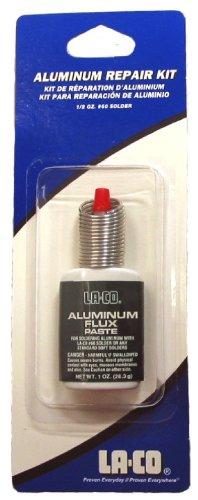 LA-CO Aluminum Flux Paste and Solder Kit, 1 oz