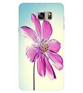 ColourCraft Lovely Flower Design Back Case Cover for SAMSUNG GALAXY NOTE 6