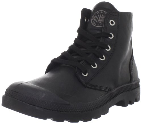 Palladium Men's Pampa Hi Leather-M Black Walking Boot 02355-001-M 8.5 UK