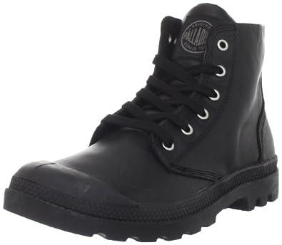 Palladium Women's Pampa Hi Leather Boot,Black,6 M US