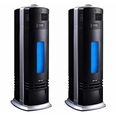 2PC Pro Air Purifier Carbon Ionic Ionizer Negative Fresh Ions Breeze