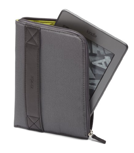 Amazon Kindle Zip Sleeve, Graphite (fits Kindle Paperwhite, Kindle and Kindle Touch)
