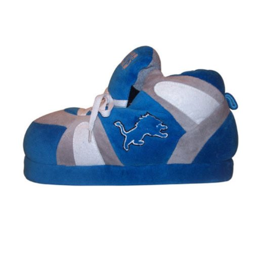 Мужские тапочки Comfy Feet NFL Sneaker Boot Slippers - Detroit Lions