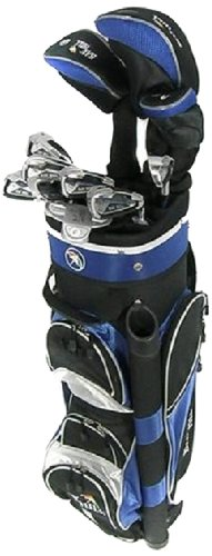 BAY HILL Damen Golfsatz TP-100 Linkshand, schwarz blau, TP101 Lady LH