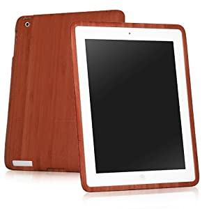 BoxWave True Bamboo iPad 2 Case, 100% Authentic Premium Grade Genuine Bamboo Wood Cover Shell Case for iPad 2 – iPad 2 Cases and Covers (Cherry)