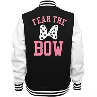 Amazon.com Fear The Bow Cheer Jacket Ladies Fleece ...