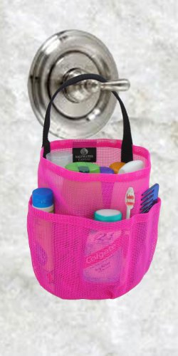 Very Cheap Shower Caddie discount: Hot Pink Mesh Tote - College Dorm ...