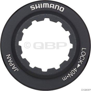 Image of Shimano SM-RT98 Centerlock Rotor Lockring Black/Alloy (Y8J998010)