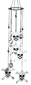 Spoontiques Skull and Crossbones Wind Chime from Spoontiques