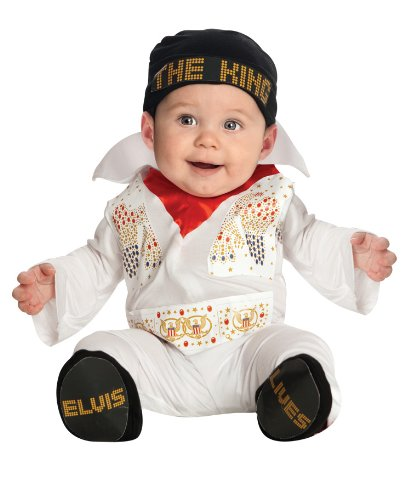 Baby Elvis Costume Size 6-12 Months