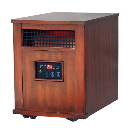 This Deals Flametec Nd 48 1500 Watt Electric Fireplace Portable Infrared Quartz Heater With