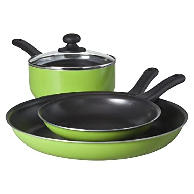 Chefmate Green 4 pc Cookware Set