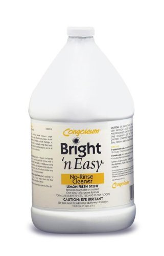Congoleum Bright 'N Easy No-rinse Cleaner (Concentrate), Gallon (Congoleum Floor Cleaner compare prices)