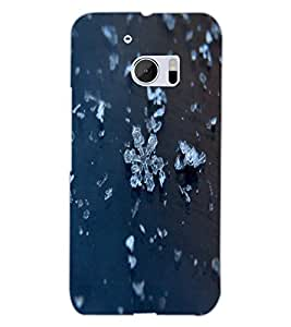 HTC ONE M10 ICE Back Cover by PRINTSWAG