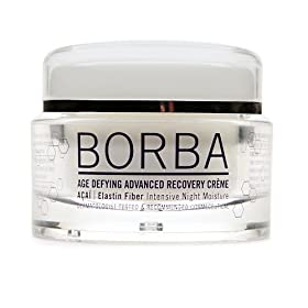 Borba Advanced Aging Recovery Cream Acai Elastin Fiber Intensive Night Miosture