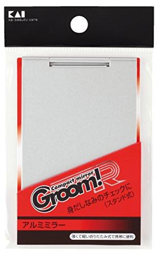 貝印 GroomR アルミミラー HC1749