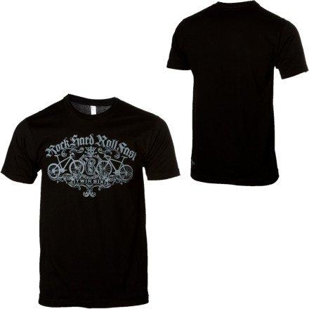 Buy Low Price Twin Six Rock Hard Roll Fast T-Shirt – Short-Sleeve – Men's (B007L0DBZS)