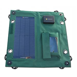 PowerSwatch Mobile Solar Charger-iPhone, iPod, GPS, camera, smartphone by Green Warrior, Inc.