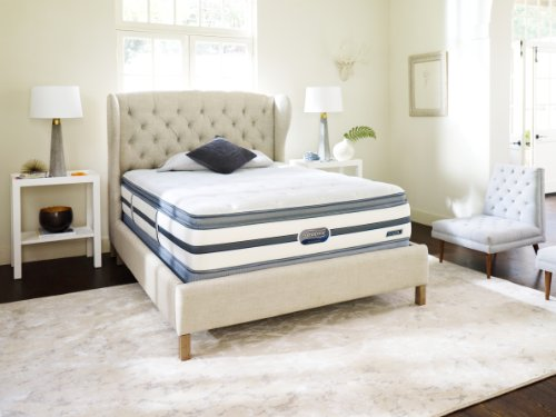 Beautyrest Recharge Lowman Luxury Firm Pillow Top Mattress Set, Full front-1028718