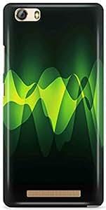 KSC Desginer Printed Hard Back Case Cover For Gionee Marathon M5