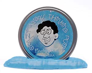 Crazy Aarons Putty World Crazy Aarons Putty World Electric Blue Putty, 3.2 oz