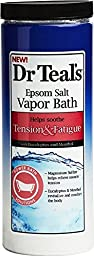 Dr. Teal\'s Tension and Fatigue Epsom Salt Vapor Bath (22-Ounce), 2 Pack