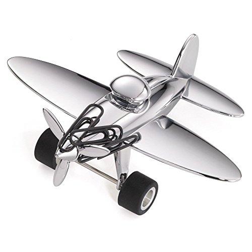 stop-over-fermacarte-cromato-a-forma-di-aeroplano
