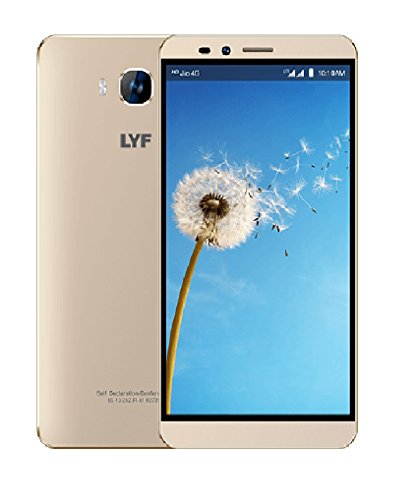 LYF-Wind-2-LS-6001-Gold-2GB-RAM-6-Inches-HD-Display