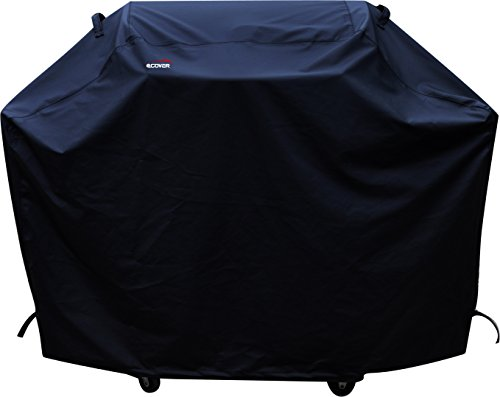 a1COVER Grill Cover,Heavy Duty Waterproof Barbeque Grill Covers Fits Weber, Holland, Jenn Air, Brinkmann, Char Broil, Medium, 58