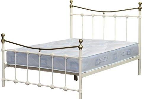Dakota 4 '15,2 cm Foot Bed High End in crema/ottone antico