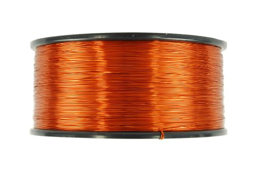 TEMCo 18 AWG Copper Magnet Wire - 1.5 lb 299 ft 200øC Magnetic Coil Winding